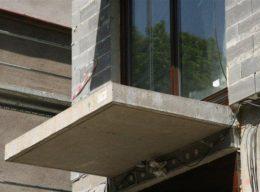 Betonový balkon